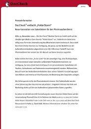 "DocCheck® entfacht ""FolderStorm"" - DocCheck AG"