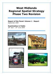 West Midlands Regional Spatial Strategy Phase Two Revision