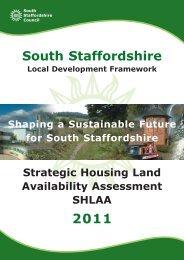 2011 shlaa - South Staffordshire Council