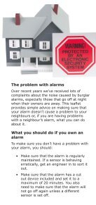 Noise from Burglar alarms - South Staffordshire Council - Page 2