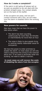 Noise from Burglar alarms - South Staffordshire Council - Page 4