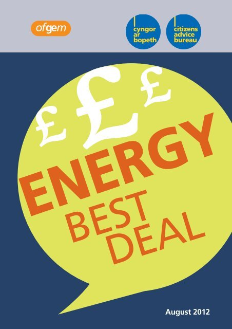 best deal from my energy supplier - Advicehub