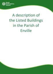 A description of the Listed Buildings in the Parish of Enville