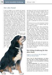 Der alte Hund - Schweizer Sennenhund-Verein für Deutschland e.V. ...