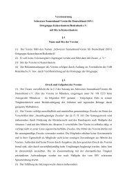 Vereinssatzung Schweizer Sennenhund-Verein für Deutschland ...
