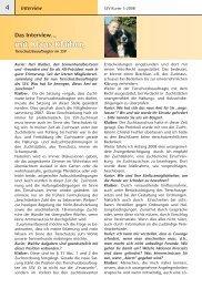 Das Interview mit Klaus Klaiber, Tierschutzbeauftragter im SSV