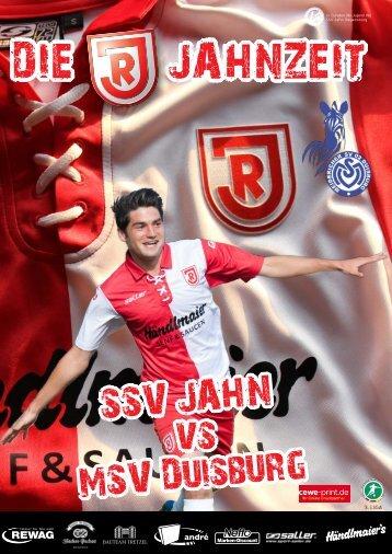 download hier - SSV Jahn Regensburg