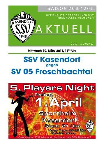1.April - SSV Kasendorf