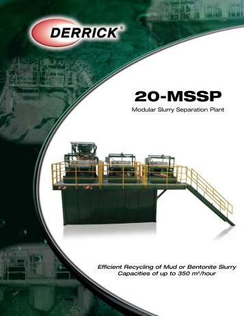 20-MSSP - Derrickinternational Equipment Company