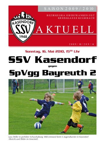aktuell - SSV Kasendorf