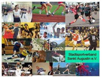 Weichen stellen für den Sport - StadtSportVerband Sankt Augustin eV