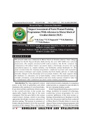 English Issue-5.pmd - international indexed refereed research journal