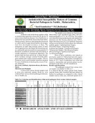 Antimicrobial Susceptibility Pattern of Common Bacterial Pathogens ...