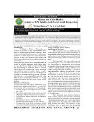 Mother and Child Health - international indexed refereed research ...