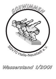 01/2001 - SchwimmSportVereinigung 70 Halle-Neustadt e. V.