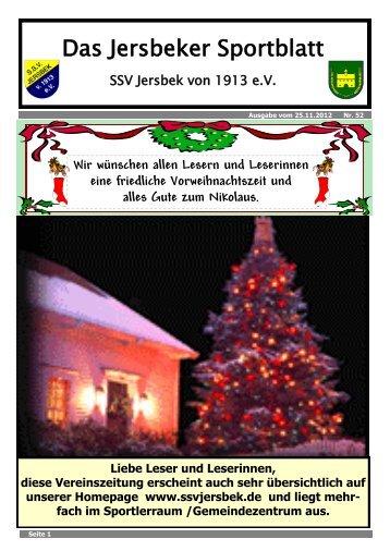 Ausgabe 11.2012 - SSV Jersbek