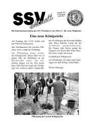 SSV Aktuell April mit Gasthaus Heuer Anzeige - SSV Plockhorst
