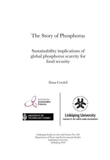 The Story of Phosphorus - DiVA