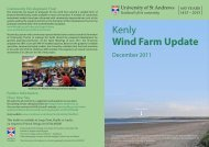 Kenly Wind Farm Update - University of St Andrews