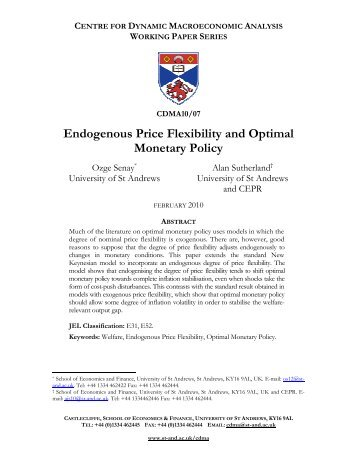 Endogenous Price Flexibility and Optimal Monetary Policy
