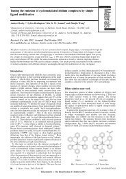 Tuning the emission of cyclometalated iridium complexes by simple ...
