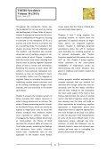 TOEBI Newsletter Volume 30 (2013) - University of St Andrews - Page 5