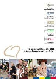 Geschäftsbericht 2011 - St. Augustinus Gelsenkirchen GmbH