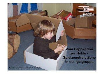 Spielzeugfreie Zone in der Igelgruppe - St. Augustinus Kindergarten ...