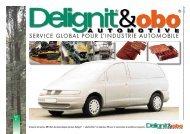 SERVICE GLOBAL POUR L'INDUSTRIE AUTOMOBILE - Delignit