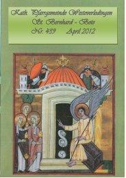 04. 2012 - St.-Bernhard-WOL