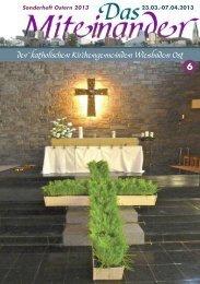 der katholischen Kirchengemeinden Wiesbaden Ost - Maria Aufnahme