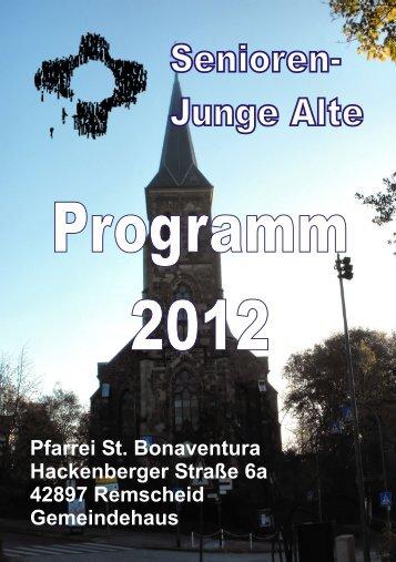 Junge Alte - St. Bonaventura