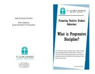 Progressive Discipline Booklet -April 2012 - St Clair CDS Board