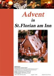 Adventprogramm 2010 (303 KB) - St. Florian am Inn