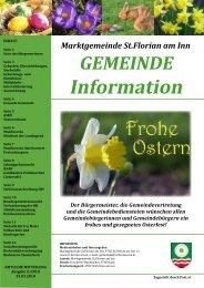 Gemeindezeitung März 2010 (1,41 MB) - St. Florian am Inn