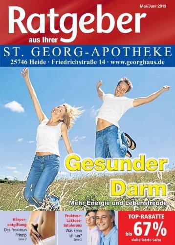 Ausgabe Mai/Juni 2013 Gesunder Darm. Mehr Energie und ...
