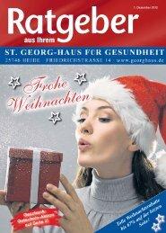 Ausgabe Dezember 2012 Geschenkideen zum Fest - St. Georg ...