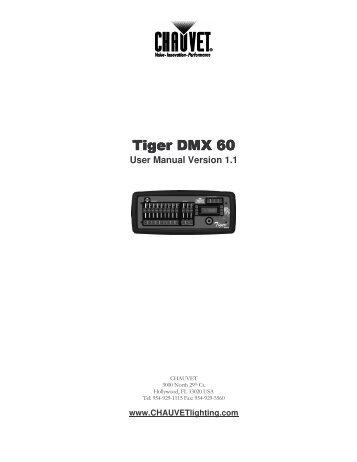 owners manual for chauvet dmx 6 junior universal controller with rh yumpu com Cartoon Manual Corvette Owners Manual