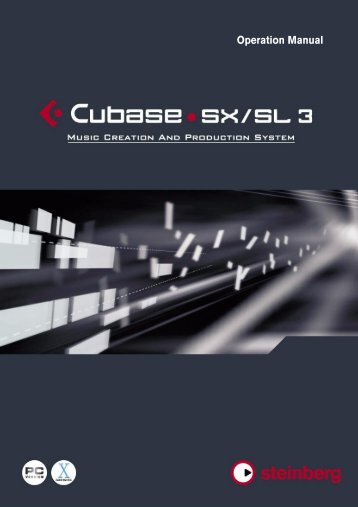 Manual for Steinberg Cubase System