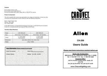 owners manual for chauvet dmx 6 junior universal controller with rh yumpu com Corvette Owners Manual Cartoon Manual