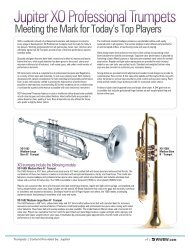 Jupiter XO Professional Trumpets