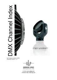 Impression 90 RGB DMX V1.17 EN - GLP Light Produktion GmbH