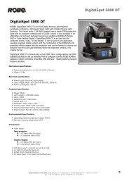 DigitalSpot 3000 DT DigitalSpot 3000 DT - MK Light Sound