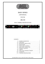 Manual 216 - Polar Audio