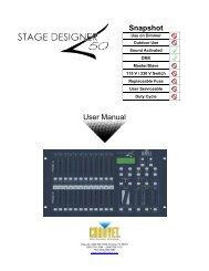 Stage Designer 50 User Manual - CHAUVET® Lighting