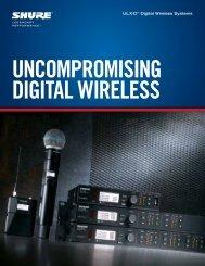 ULX-D Wireless Brochure - Shure