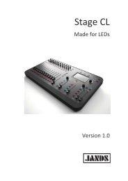 Stage CL Manual - AC Lighting Inc.