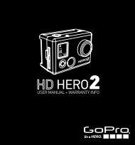 View GoPro hero2 HD Instruction Manual - AV Chicago