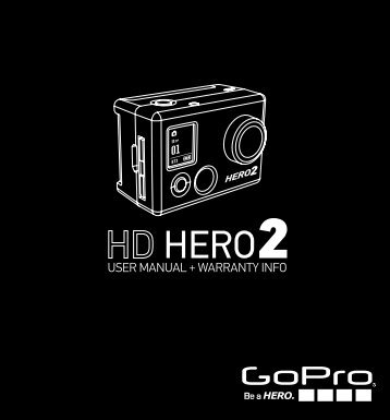 View GoPro hero2 HD Instruction Manual - AV Chicago