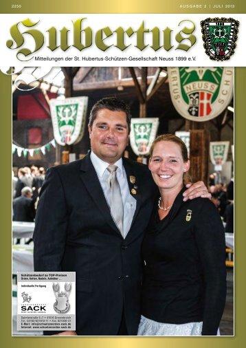 Hubertuszeitung Ausgabe 02/2013 - St. Hubertus-Schützen ...